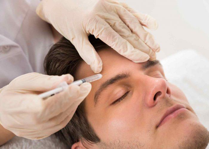 Stirnfalte Botox