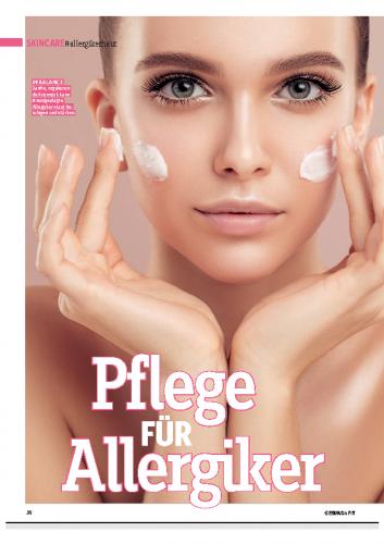Österreich / Pflege für Allergiker