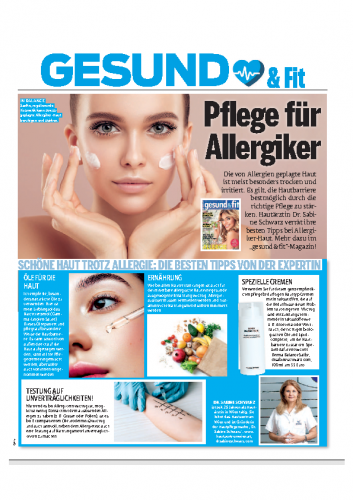 Gesund & Fit / Pflege für Allergiker